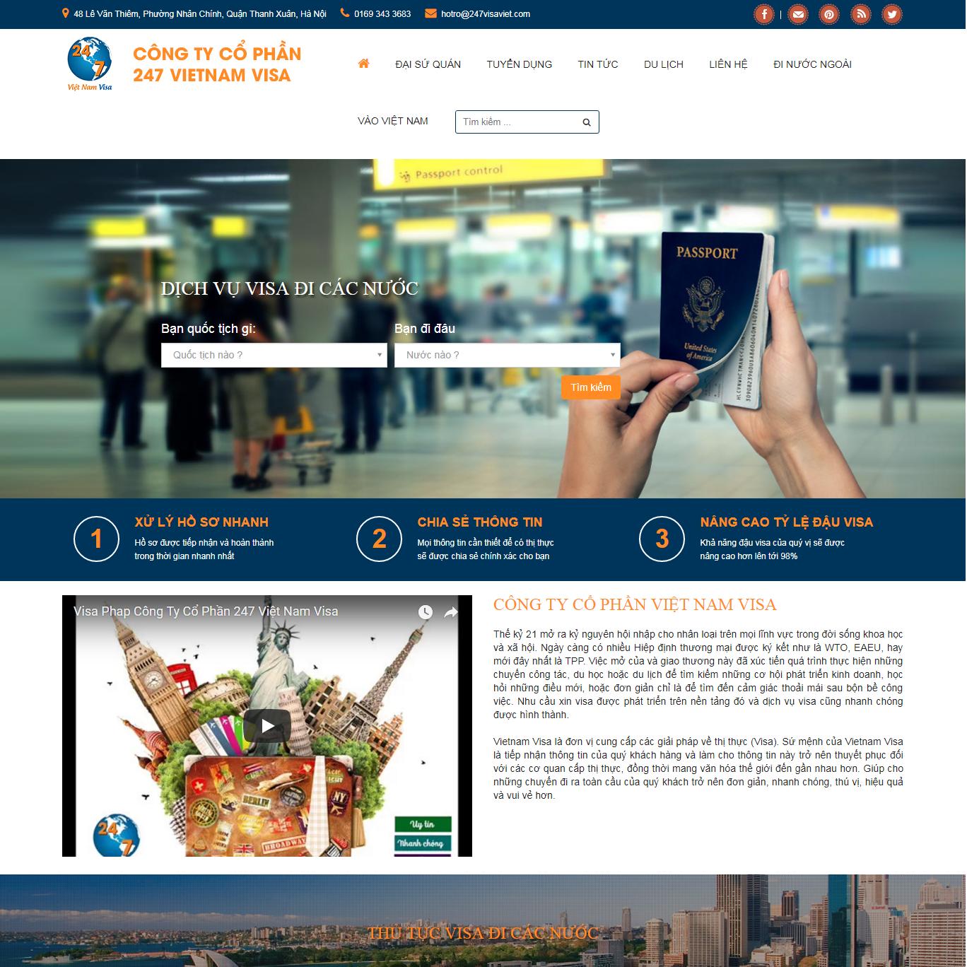 Công ty cổ phần Visa Việt Nam