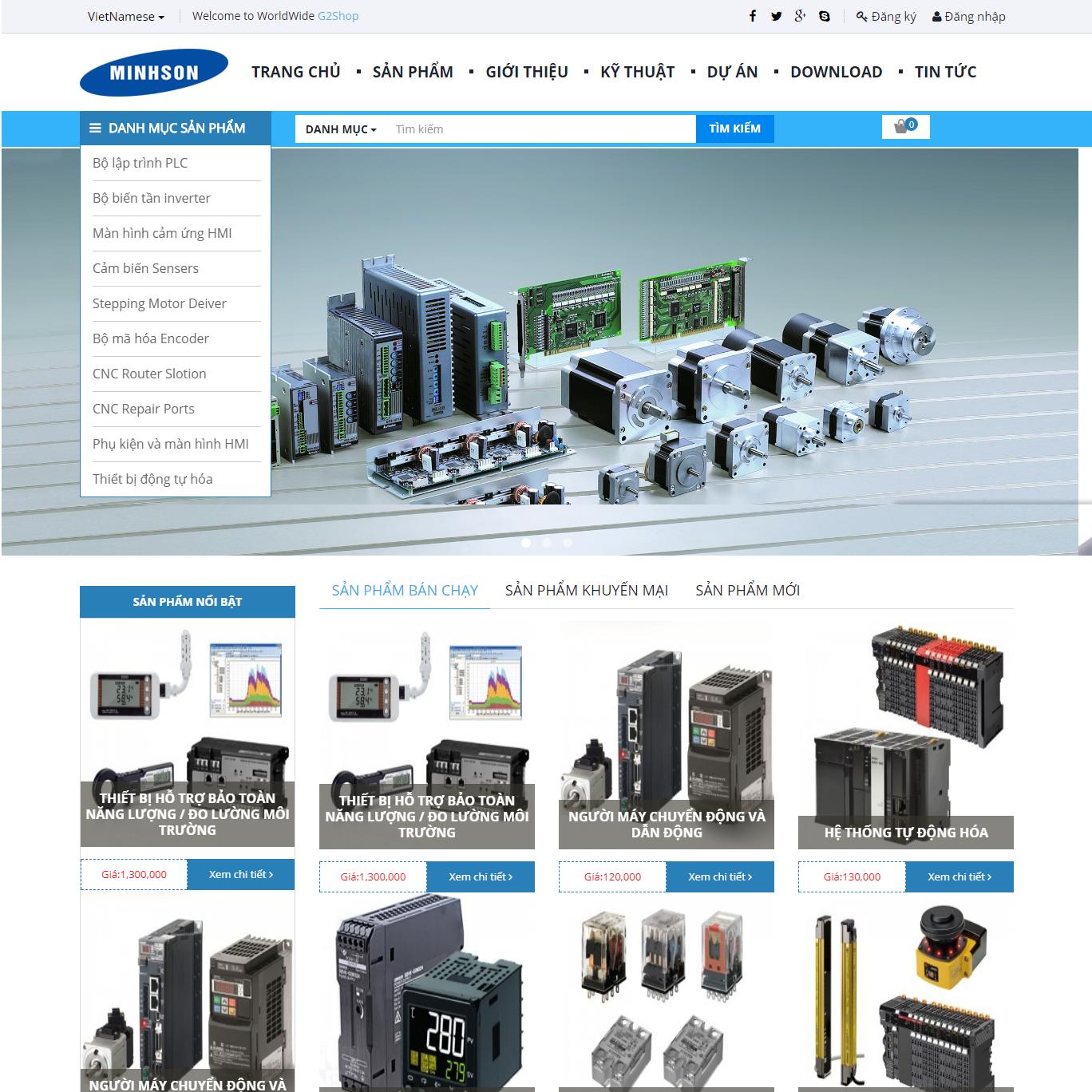 Công ty TNHH thương mại đầu tư và phát triển công nghệ cao Minh Sơn