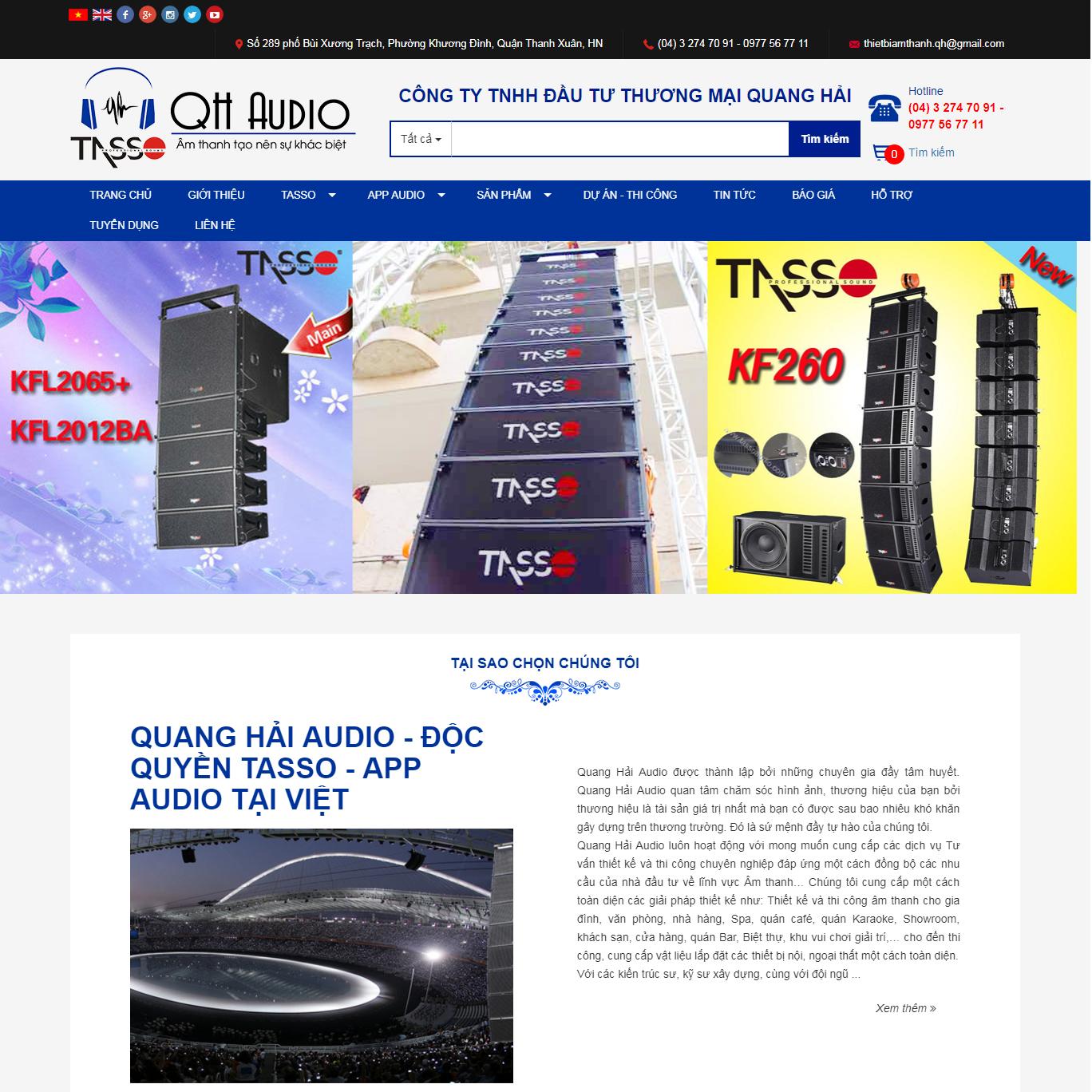 Công ty TNHH đầu tư thương mại Quang Hải